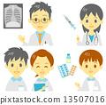 醫務人員檢查注射藥物 13507016