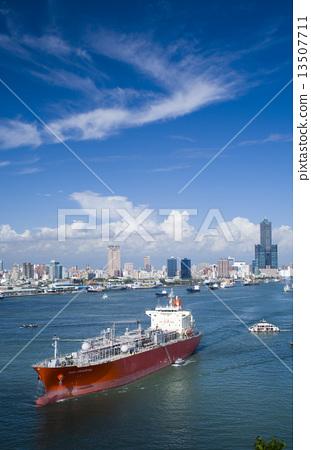 亞洲台灣的高雄港 13507711