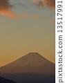 후지산, 엽서, 야쓰가타케 13517991