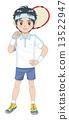 男孩们 男孩 网球 13522947