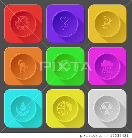 recycle symbol, flower, deer, cat, rain, protection blood, globe 13532481