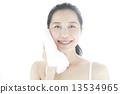 face, washing, skincare 13534965