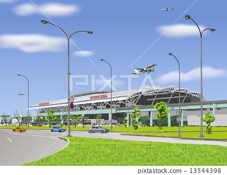 Fukuoka Airport International Terminal Building 13544398