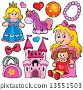 Collection with toys theme 1 13551503