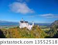 城堡 巴伐利亞 新天鵝堡 13552518