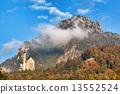 城堡 巴伐利亞 新天鵝堡 13552524