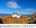 城堡 巴伐利亞 新天鵝堡 13552527
