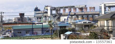 Highway construction Third Keihin consolidated work 13557361