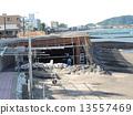 指宿在鹿兒島的城市景觀 13557469
