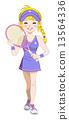 테니스 여자 13564336