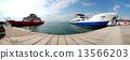 船 渡口 渡船 13566203