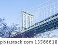 布鲁克林 建筑 桥 13566618