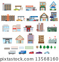 Various buildings 13568160