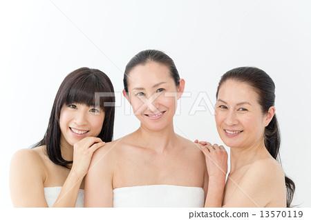 自然妝30年代·40年代·50年代女性 13570119