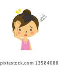 矢量 夫人 女士 13584088