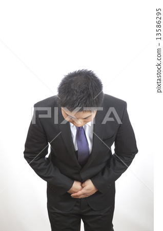 Bowing / Male Businessman 13586295