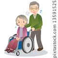wheelchair, Wheel Chair, wheel-chair 13591525
