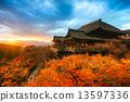 Kiyomizu-dera Temple in Kyoto, Japan 13597336