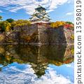 Osaka Castle in Osaka, Japan. 13598019