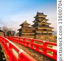 Matsumoto Castle, Japan. 13600704