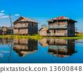 Inle Lake, Myanmar. 13600848