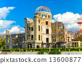 Hiroshima Atomic Bomb Dome, Japan. 13600877