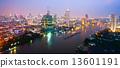 Bangkok Skyline, Thailand.. 13601191