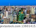 Tokyo skyline, Japan. 13601415