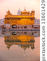 Golden Temple in Amritsar, Punjab, India. 13601429