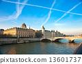 Palais de Justice, Ile de la Cite, Paris - France 13601737