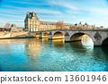 Louvre Museum and Pont du Carousel, Paris - France 13601946