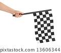 Checkered final flag 13606344