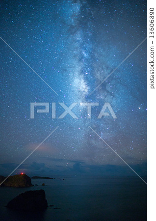 Milky Way of Ogasawara Chichijima 13606890
