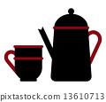 杯子 茶壺 茶杯 13610713