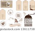 Coffee design elements 13611738