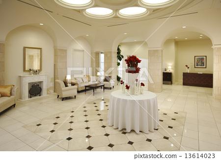 Welcome Board Wedding Reception Coordinate Stock Photo 13614023