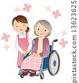 nursing, wheel-chair, Wheel Chair 13623625