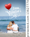 Valentines day vector 13627770