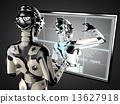 여성, 로봇, 여자 13627918