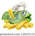 大厨 主厨 鱼 13634113
