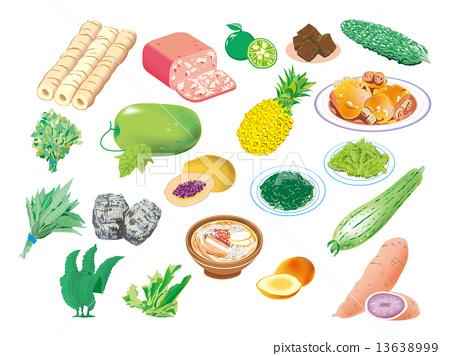Main ingredients of Okinawa 13638999