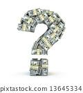 钞票 账单 美元 13645334