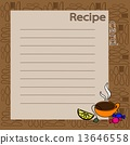 vector, recipe, blank 13646558