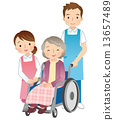 helper, wheelchair, Wheel Chair 13657489