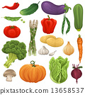 Vegetable set 13658537