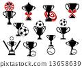 trophy, winner, black 13658639