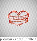 vector, tattoo, banner 13660611