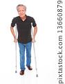 white background,old man, studio shot, businessman, portrait, suit, senior,formal, smiling, grin     13660879