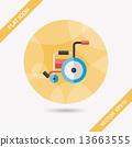 輪椅 輪子 車輪 13663555
