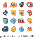icon, sticker, banner 13663887